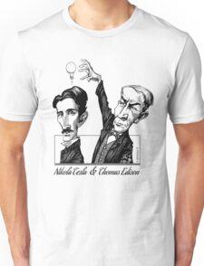 Tesla v Edison Unisex T-Shirt