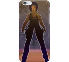 Cowboy Girl Pin Up iPhone Case/Skin