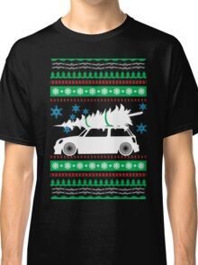 Christmas Car Ugly Sweater Mini Classic T-Shirt