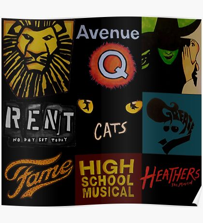 Musicals!!! Poster