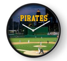Pirates Ballclub Clock