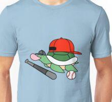 Baseball Turtle Unisex T-Shirt