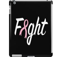 Fight (white letters) iPad Case/Skin
