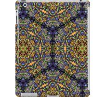 Psychedelic jungle kaleidoscope ornament 10 iPad Case/Skin