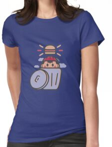 Trash Burger Womens Fitted T-Shirt