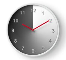 Night and Day Time Change Clock