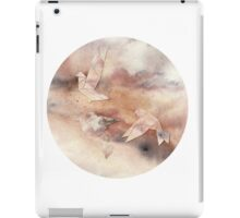 Pastel Origami Birds iPad Case/Skin