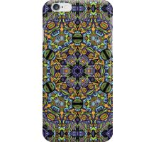 Psychedelic jungle kaleidoscope ornament 11 iPhone Case/Skin