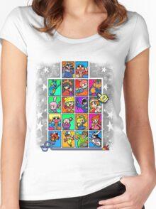 Warioware Mega Mix Women's Fitted Scoop T-Shirt