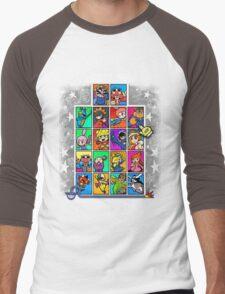 Warioware Mega Mix Men's Baseball ¾ T-Shirt