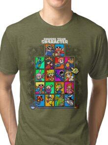 Warioware Mega Mix Tri-blend T-Shirt