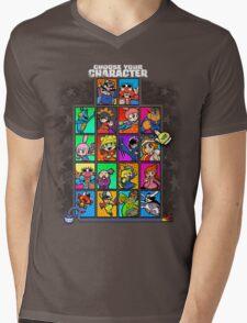 Warioware Mega Mix Mens V-Neck T-Shirt
