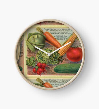Real Food Clock