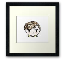 Quirky, Dorky Wizard Framed Print