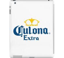 Culona Extra Funny Beer Logo iPad Case/Skin