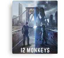 12 Monkeys TV Series Canvas Print