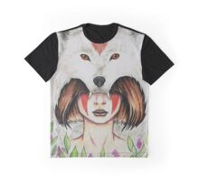 Wolf Queen Graphic T-Shirt