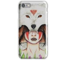 Wolf Queen iPhone Case/Skin