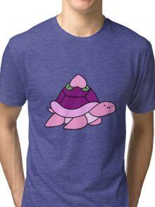 Peach Turtle Tri-blend T-Shirt