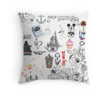 Dreamers Paradise Throw Pillow