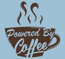 Powered By Coffee One Piece - Short Sleeve