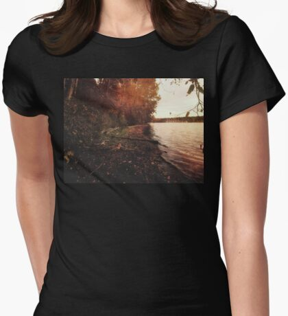 The trees of autumn Womens Fitted T-Shirt