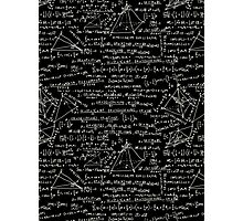 Equations Photographic Print