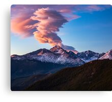 Fire on the Mountain Canvas Print