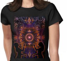 As Above, So Below Womens Fitted T-Shirt