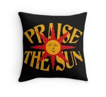 Praise The Sun (8) Throw Pillow