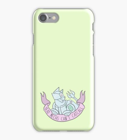 Dead Mechs... [PASTEL] iPhone Case/Skin