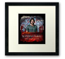 Supernatural Sam Winchester 2 Framed Print
