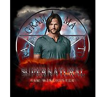 Supernatural Sam Winchester 2 Photographic Print