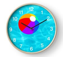 Beach Ball  Clock