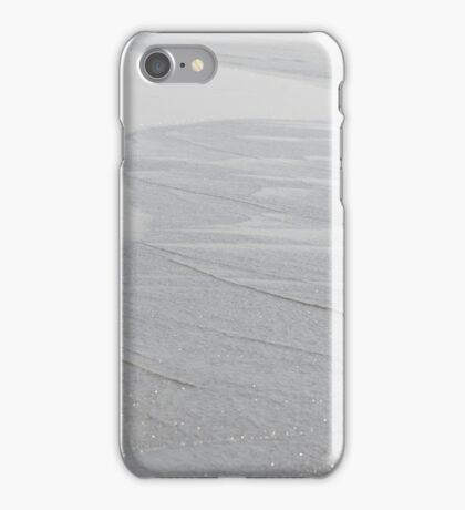 Silver Ripples iPhone Case/Skin