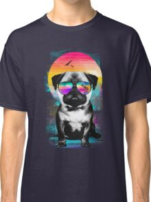 Summer Pug Classic T-Shirt