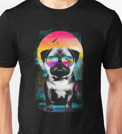 Summer Pug Unisex T-Shirt