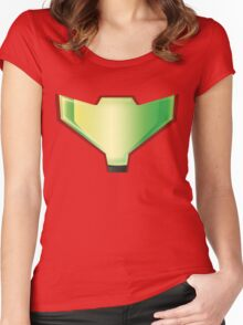 Metroid Visor Women's Fitted Scoop T-Shirt