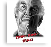 Ding Ding! Canvas Print