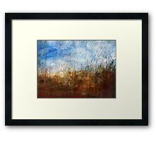 Rainy Day in the Prairie Framed Print