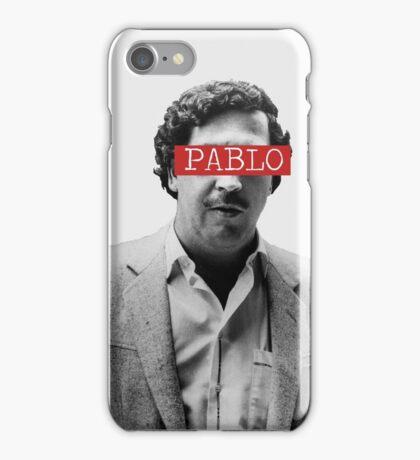 PABLO ESCOBAR - PABLO iPhone Case/Skin