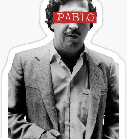 PABLO ESCOBAR - PABLO Sticker