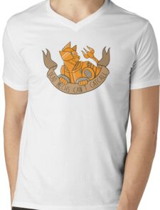 Dead Mechs... [STRIPES] Mens V-Neck T-Shirt