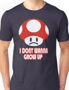 I Don't Wanna Grow Up T-Shirt Funny New Olds School TEE College Humor Gamer Nerd Unisex T-Shirt