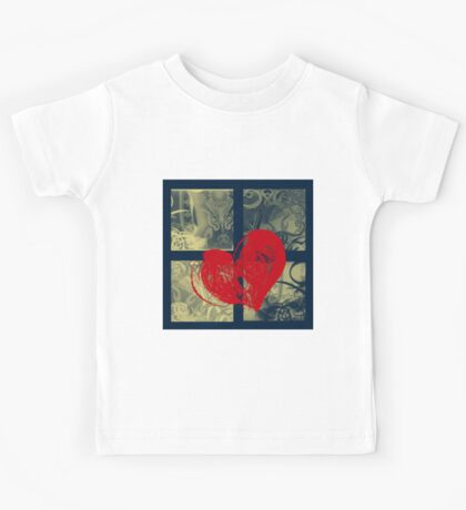AT LAST (BLOCK 8: RED HEART) - MIX AND MATCH!!!! Kids Tee