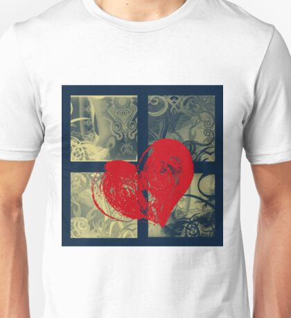 AT LAST (BLOCK 8: RED HEART) - MIX AND MATCH!!!! Unisex T-Shirt