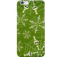 Green Skeleton Web iPhone Case/Skin