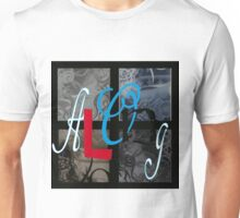 AT LAST (BLOCK 7: WORD 'ALONG') - MIX AND MATCH!!! Unisex T-Shirt