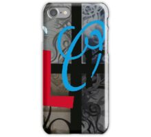 AT LAST (BLOCK 7: WORD 'ALONG') - MIX AND MATCH!!! iPhone Case/Skin