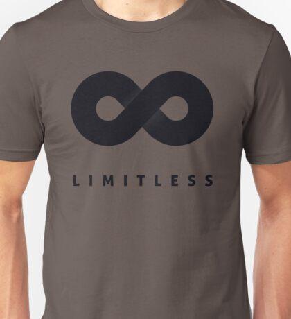 Limitless Black Unisex T-Shirt